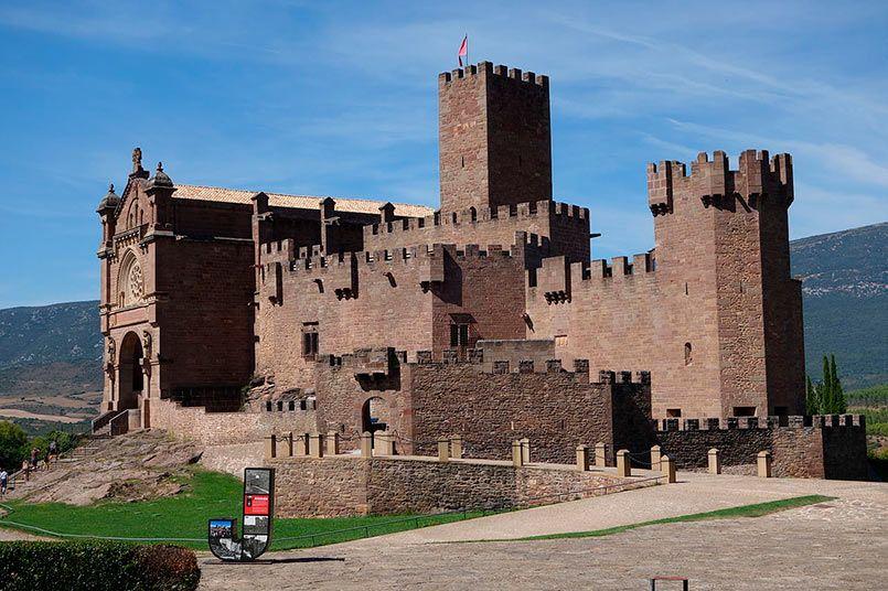 Castillo de San Javier en Navarra