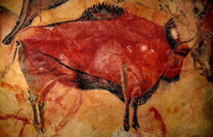 Bisonte de Altamira. La Península Ibérica, una joya subterránea