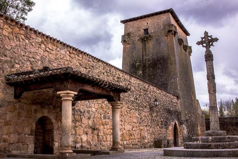 Covarruvias. Pueblo medieval de la provincia de Burgos.