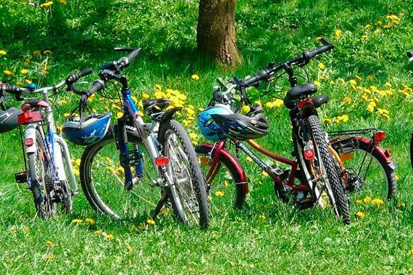 Paseos en bicicleta. Formentera de Vacaciones con niños