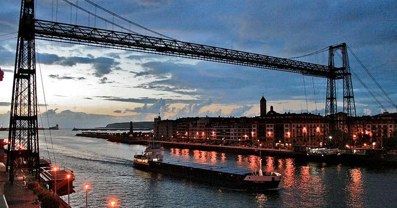 Puente Colgante de Portugalete - Transbordador